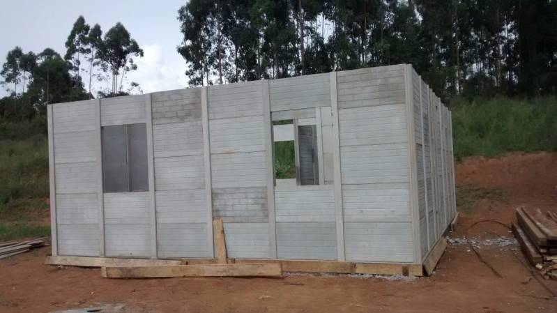 Pré Moldados na Construção Civil Brooklin - Casas Pré Moldadas Alvenaria