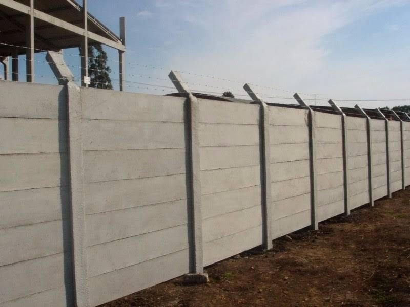 Quanto Custa Muro Pré Moldado de Concreto  Cruz Preta - Casas Pré Moldadas 2 Quartos