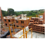 alvenaria estrutural em blocos cerâmicos preço Residencial Doze