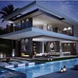 concreto armado para piscinas Residencial Oito