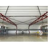 empresa de estrutura metálica para hangar Água Rasa