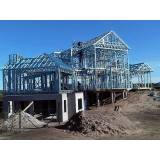 estrutura metálica para casas preço Alphaville Conde II