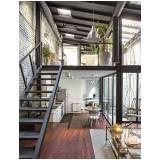 estrutura metálica para casas Residencial Três