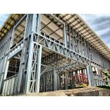 estrutura metálica para construção preço Residencial Sete