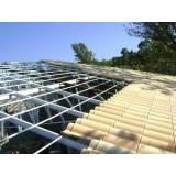 estrutura metálica para garagem preço Higienópolis