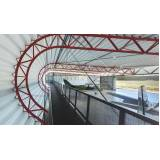 estrutura metálica para hangar preço Residencial Nove
