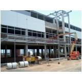 estrutura metálica para prédios preço Alphaville Conde II