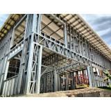 estrutura metálica para construção