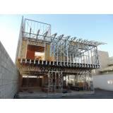 estruturas metálicas para casas Vila Mazzei