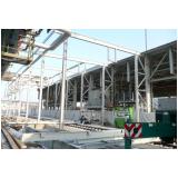 estruturas metálicas para garagem industrial Recanto dos Victor