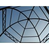 estruturas metálicas para quiosque Rio Cotia