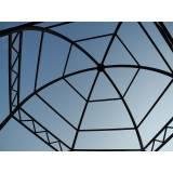 estruturas metálicas para quiosque Jardim Paulistano