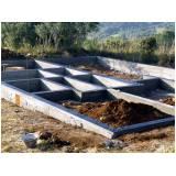 fundação para construção de casas Conjunto Habitacional Padre Manoel da Nóbrega