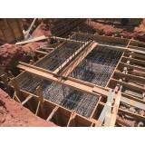 fundação para container Conjunto Habitacional Padre Manoel da Nóbrega