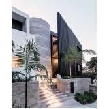 fundação para construção de casas