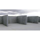 pré moldados de concreto Residencial Três