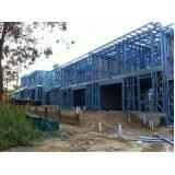 quanto custa estrutura metálica para prédios Residencial Nove